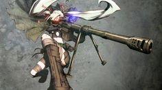 Anime Sniper Girl Chrome Theme - ThemeBeta
