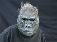 Ramar Gorilla Mask by Amy Coons. #Mask
