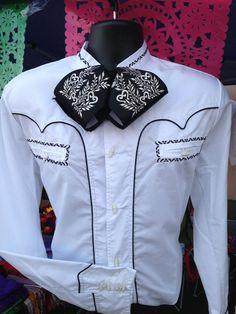 "Mexican Charro and Mariachi Western Shirt From Jalisco, Mexico ""Espuela De Oro"" #EspueladeOro #CharroandMariachi"