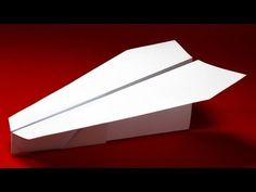 How to make a Paper Airplane that Flies 10000 Feet Far - Avion en Papier | Scout - YouTube