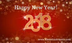 #HappyNewYear Everyone from #KISMET #Nutrients! Wishing you all a #healthy #prosperous #successful 2018! #KISMET believes in your #destiny to be full of good #health  #vitality  https://kismetnutrients.com/collections/all-products