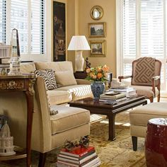 Ballard Designs Sectional Sofa Set Rich Comfortable Upholstered Fabric How  To Match A Coffee Table Your