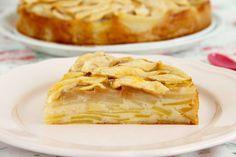 Tarta milhojas de pera y manzana - MisThermorecetas