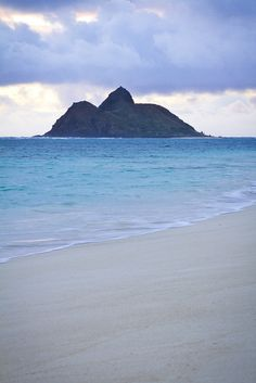 Dawn at Lanikai Beach - Oahu, Hawaii by banzainetsurfer, via Flickr