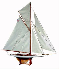 nautical nursery must have - model sail boat