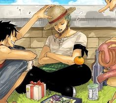 Monkey D Luffy Roronoa Zoro Usopp Tony Tony Chopper Straw Hat Crew Pirates Mugiwaras One Piece Photo One Piece, One Piece 1, One Piece Images, One Piece Luffy, Anime Yugioh, Manga Anime, Anime Pokemon, Anime One Piece, Monkey D Luffy