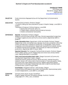 Example Of Mis Internship Resume  HttpExampleresumecvOrg