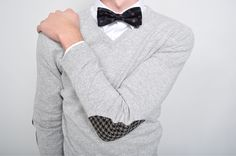 I'm not the world's biggest bowtie fan but this outfit is too cute and I wouldn't mind my date wearing this to something.