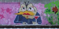 Grafiti at Lysaker (Oslo).