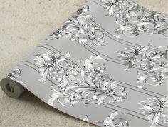 Modern Silver Flower Wallpaper Roll 3d Foil Glitter Living Room Wallpaper Embossed Silver Wallpaper Papel De Parede 3d Paisagem