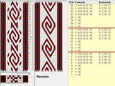 16 tarjetas, 3 colores, repite cada 8 movimientos // sed_1046 diseñado en GTT༺❁