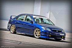 Kinda a Subie inspired i think, but an awesome sedan! Honda Civic 2002, Honda Civic Sedan, Honda Vtec, Honda S, Civic Jdm, Car Wash Business, Car Goals, Japan Cars, Car Engine
