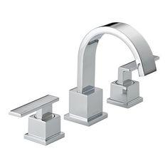 Master Bath plumbing fixtures:   Delta Faucet 3553LF Vero Two Handle Widespread Faucet