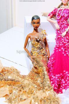 Mbili barbie in sequin dress