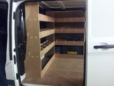 Van Storage, Locker Storage, Van Organization, Van Shelving, Van Racking, Work Trailer, Transit Custom, Service Maintenance, Van