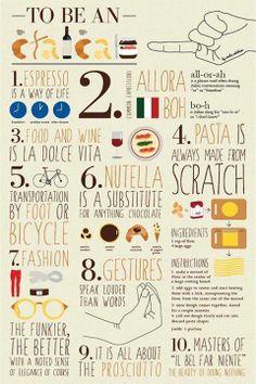 """Empezamos el día con un poco de #ironía sobre el """"Ser #Italiano"""" . ¡os deseamos un buen día!"""