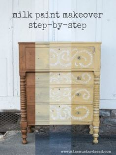 miss mustard seed | step by step dresser makeover