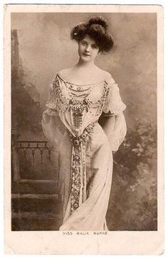 Billie Burke, Ziegfeld girl and wife of Florence Ziegfeld.  (August 7, 1885 - May 17, 1970)