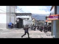 Estudiantes y policías se enfrentan en las calles de Táchira 13-Enero-2015