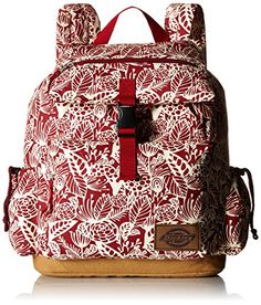 Dickies Ruck Sack Big Red Flora One Size -- Be sure to check out this awesome product.