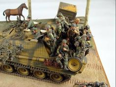 Painting WW2 German Fallschirmjager Camo ; How to - YouTube
