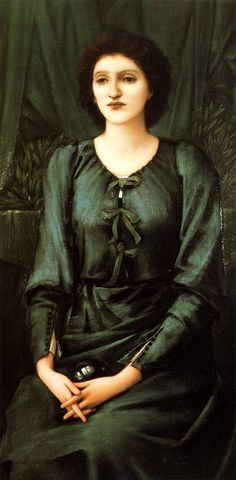 'Baronne Madeleine Deslandes', Sir Edward Coley Burne-Jones