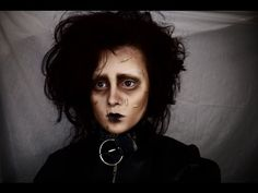 Johnny Depp Make-up Transformation (Edward Scissor Hands,Captain Jack Sparrow & Willy Wonka ) - YouTube
