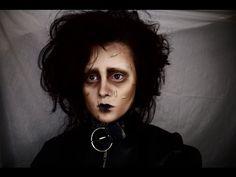 Edward Scissorhands Makeup Tutorial - YouTube