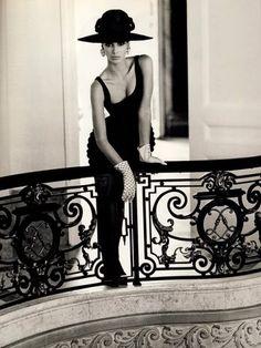 Christy Turlington by Steven Meisel. Vogue Italia, September 1991.
