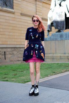 Alice Liddell Blog (Rachel Yabsley) for Street Smith - Jess Stanton  http://www.streetsmith.com.au/events/mbfwa-day-5/