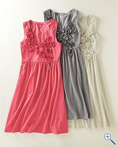 Cute summer dresses.  Too pricey though at $98
