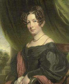 Portrait of Maria Antoinette Charlotte Sanderson (1782-1859). Married to Johan Fraser, Charles Howard Hodges, 1835