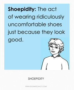 Suffering from Shoepidity? Find help on www.shoemocracy.com #shoemocracy