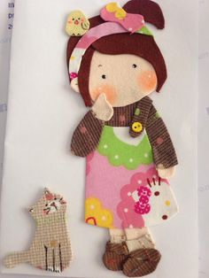 App Quite Hand Applique, Applique Patterns, Applique Quilts, Sewing Patterns, Yarn Thread, Embroidery Fabric, Love Sewing, Fabric Dolls, Hobbies And Crafts