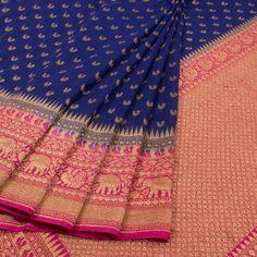 indian fashion Modern -- Click Visit link above for more info Gadwal Sarees Silk, Banaras Sarees, Kanchipuram Saree, Blue Silk Saree, Wedding Silk Saree, Soft Silk Sarees, Trendy Sarees, Fancy Sarees, Katan Saree