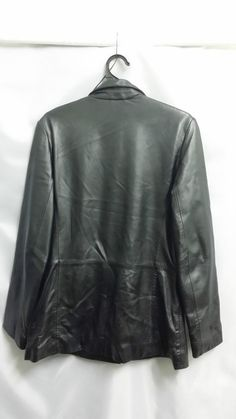 JUST JEANS LEATHER SIZE 12 JACKET  ***CHARITY AUCTION***