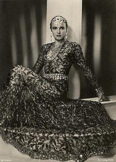 Henriette Hiebel aka La Jana - 1920's - Austrian-German dancer and actress