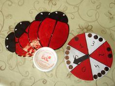 Use for circle time or milk time Preschool Games, Math Games, Activities For Kids, Crafts For Kids, Arts And Crafts, Lady Bug, Eric Carle, Too Cool For School, Activity Centers