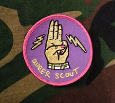 Queer Scout Badge by MaryMackWear on Etsy