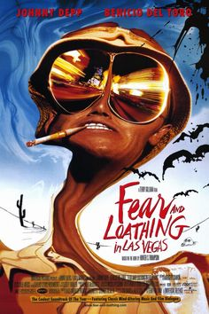 Fear and Loathing in Las Vegas (1998) Johnny Depp one of my top three favorite actors...I've watched this movie 15 times at least, I still can't remember the end, I just know I love it :P