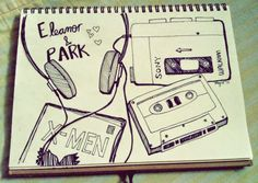 eleanor and park fan art Eleanor Y Park, All The Bright Places, Rainbow Rowell, The Book Thief, Book Fandoms, Book Nerd, Art Google, Book Worms, Fangirl