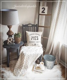 Farmstyle, pillow, olive bucket, cozy