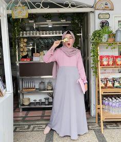 Muslim Wedding Dresses, Muslim Dress, Hijab Dress, Dress Skirt, Dress Up, Dress Wedding, Abaya Fashion, Muslim Fashion, Modest Fashion