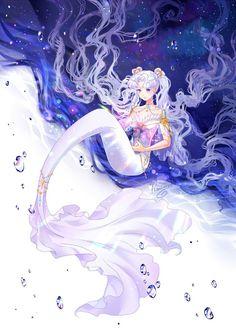 Фотографии Sailor Moon • Crystal • Кристалл – Sailor Cosmos mermaid