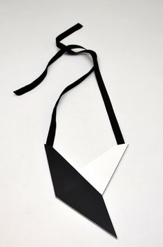 AumorFia | Polygons | Bird | leather necklace