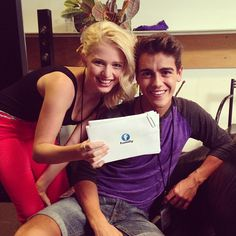 Alexandra Beaton (Emily) and Brennan Clost (Daniel) Le Studio Next Step, The Next Step, Favorite Tv Shows, Love Her, Tv Series, Photo And Video, Eve, Dancing, Mary