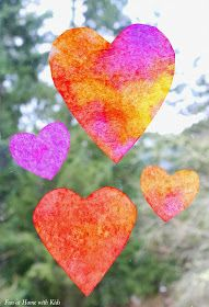 Heart Suncatcher Craft for Toddlers