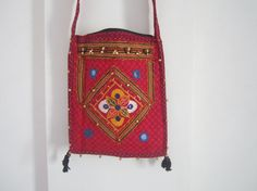 Ethnic Indian tribal bag shoulder bag by elephantsofindia on Etsy