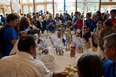 Blue and White Party @Lynn University!