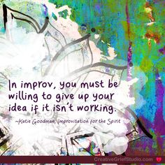 When it isn't working… – The Creative Grief Studio